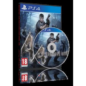 فروش بازی Resident Evil 4 برای PS4 نسخه هک شده
