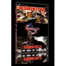 بازی Resident Evil 1 2 3 نسخه PSP به همراه نسخه های ژاپنی عرضه شده از PSN