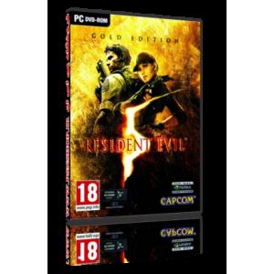 بازی Resident Evil 5 Gold Edition برای کامپیوتر