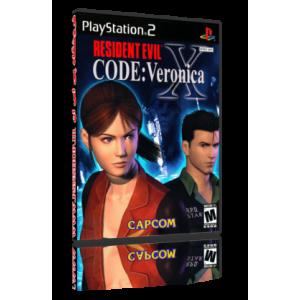 بازی Resident Evil Code Veronica X نسخه PS2