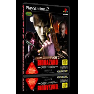 بازی resident evil survivor 2 code veronica برای پلی استیشن 2